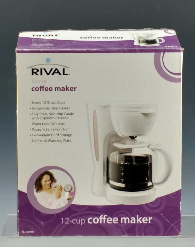Rival Coffee Maker How To Use : Rival Coffee Maker