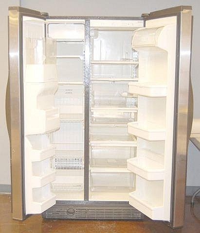 H L on Kenmore Coldspot Refrigerator Model 106