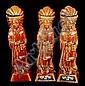 Three Ezra Brooks Indian Decanters