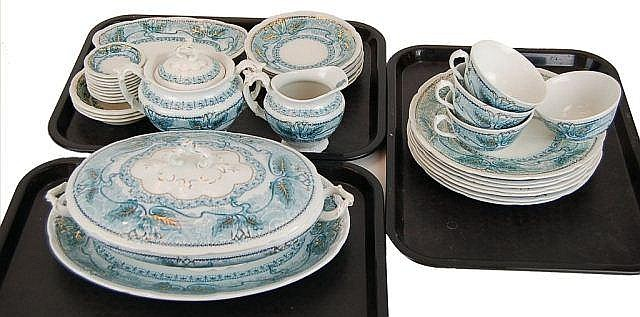 English Wood & Son Porcelain China Set