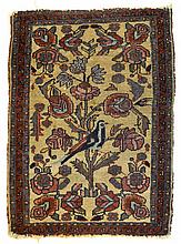 Foliate and Bird Oriental Rug