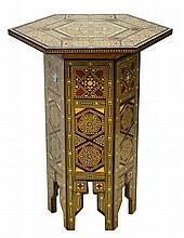 Moroccan Hexagonal Tabouret