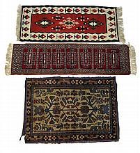 3 Pcs. Oriental Rugs