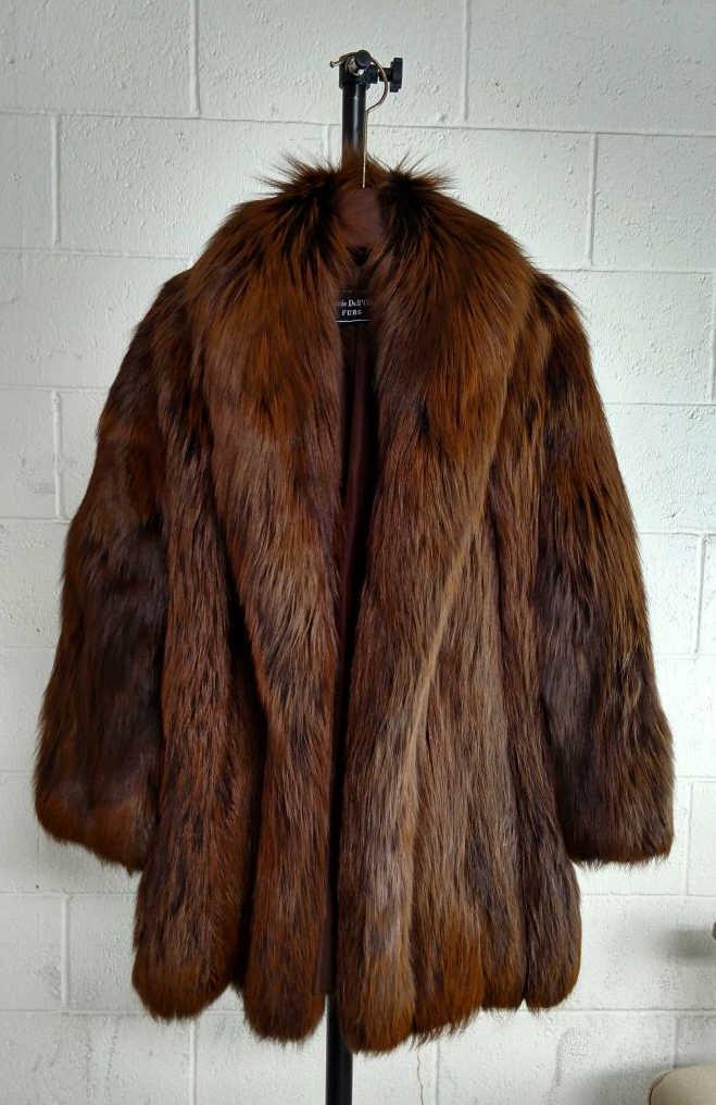 louis dell 39 olio fur coat neiman marcus. Black Bedroom Furniture Sets. Home Design Ideas