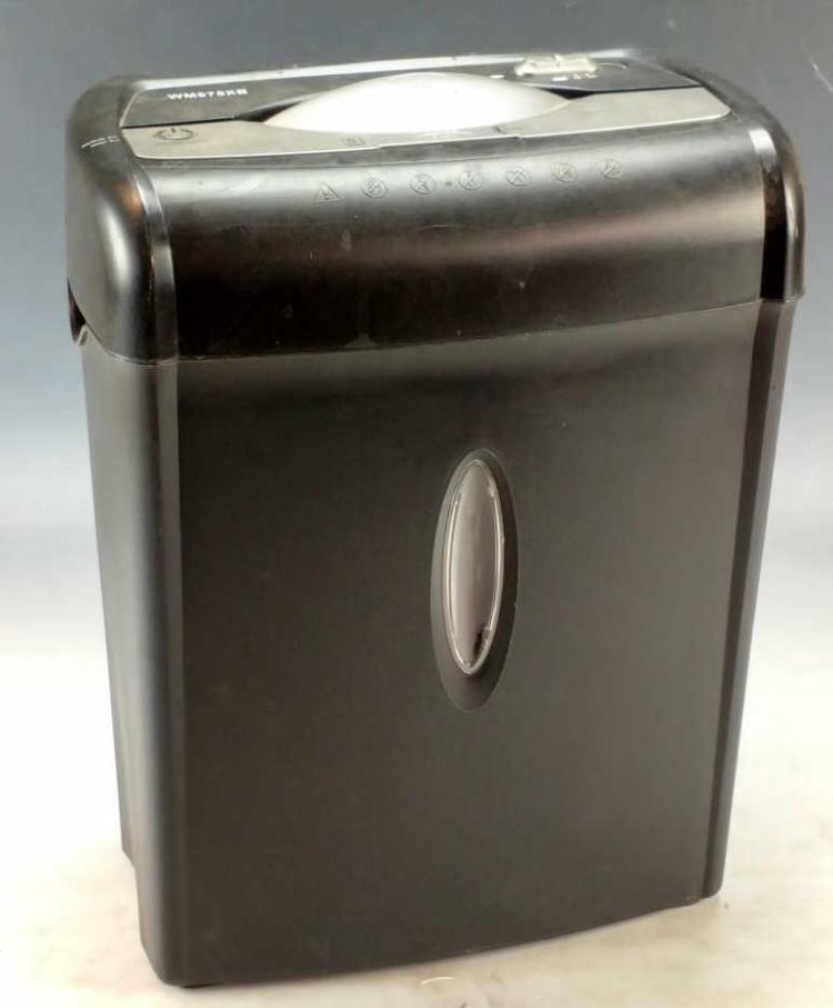 Wm675xb paper shredder