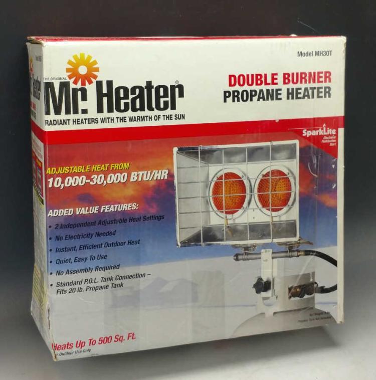 Mr Heater Double Burner Propane Heater