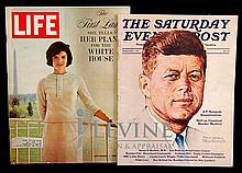 Life & Post Kennedy Story Magazines