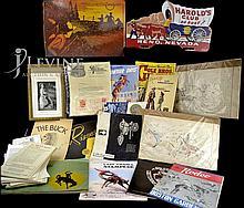 Western Ephemera Lot: Catalogs, Rodeo Programs, Etc...