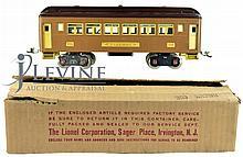 Pre-War 1930's Lionel Train Pullman Car 309 Brown