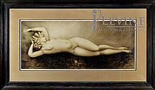 Louis Icart (1888 - 1950) Nude Paris Print