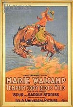 Vintage Tempest Cody Rides Wild Movie Poster