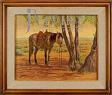 Roy Hampton (1923 - 1997) Original Painting