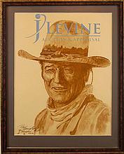 Roy Hampton Artist Proof John Wayne Print