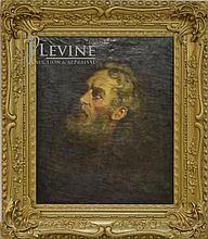 Miner K. Kellogg (1814-1889) Portrait Oil Painting