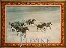 Harland Young (ne 1924) Original Painting