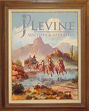 Beverly Carrick (ne 1930) Western Oil Painting #2