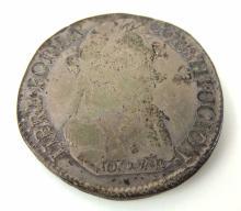 1830 Bolivia 4 Sueldos Silver Coin