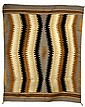 Native American Indian Woven Wool Navajo Rug