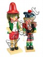 2 wooden nutcrackers, Holzkunst Christion Ulbricht