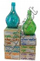 Famous Name Carnival Glass Decanter Lot