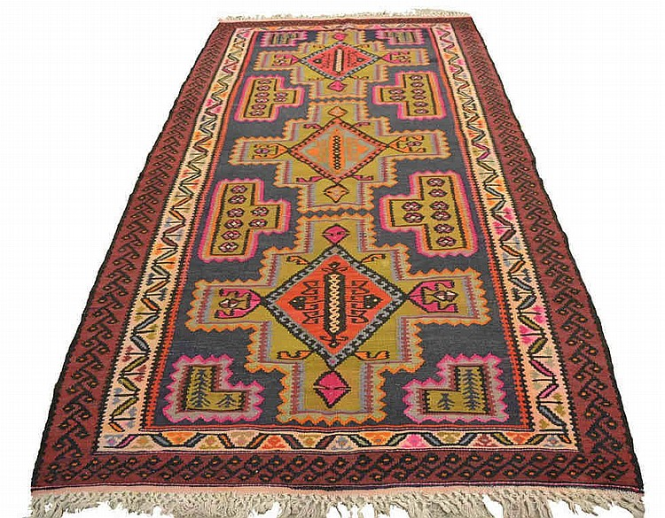 Kilim runner, approx. 61