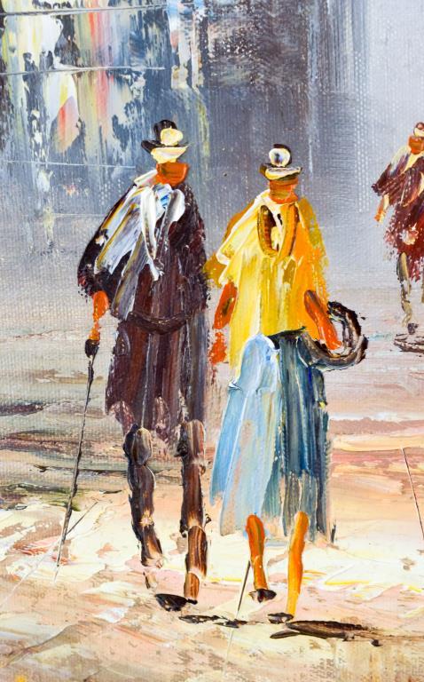 Caroline Burnett Paris Street Scene Painting 2