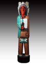 Cigar Store Indian 20th C.