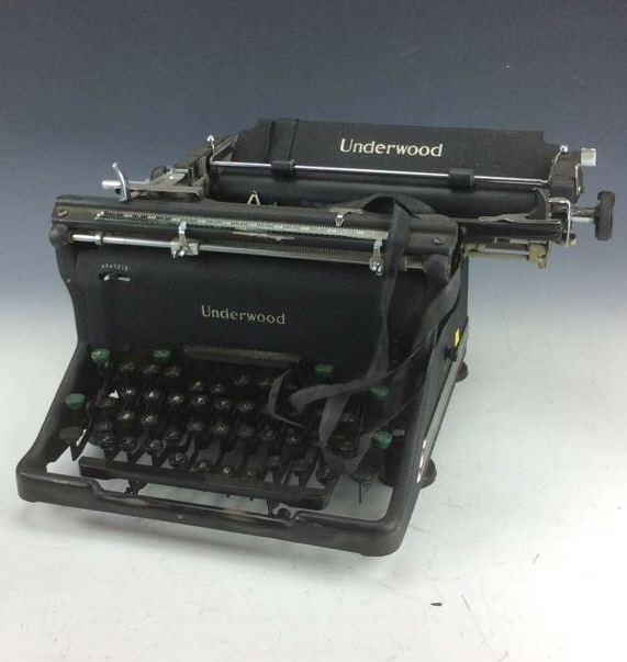 how to put ribbon in an underwood typewriter