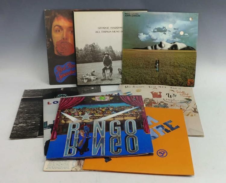 9 classic beatles vinyl albums for Classic house music albums