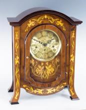 Franz Hermle, Inlay Mantel Clock 340-020a