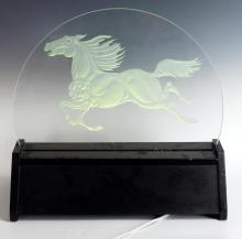 Guillaume Azoulay Marbella Etched Glass Light