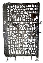 Donald Drumm Cast Aluminum Sculptural Screen, 1963