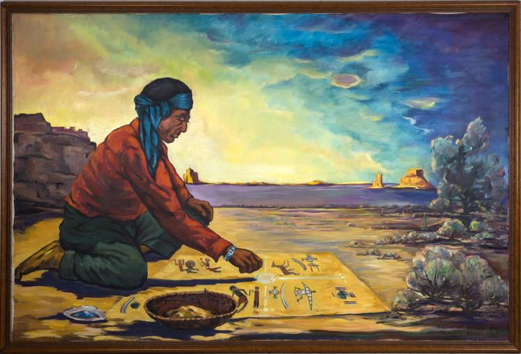 navajo creation story Four worlds summary the story tells how each of the four worlds were created as the first man and first woman search for a home elements of literature.