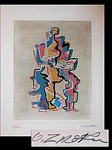 Ossip Zadkine (1890 - 1967) Ltd. Ed. Aquatint