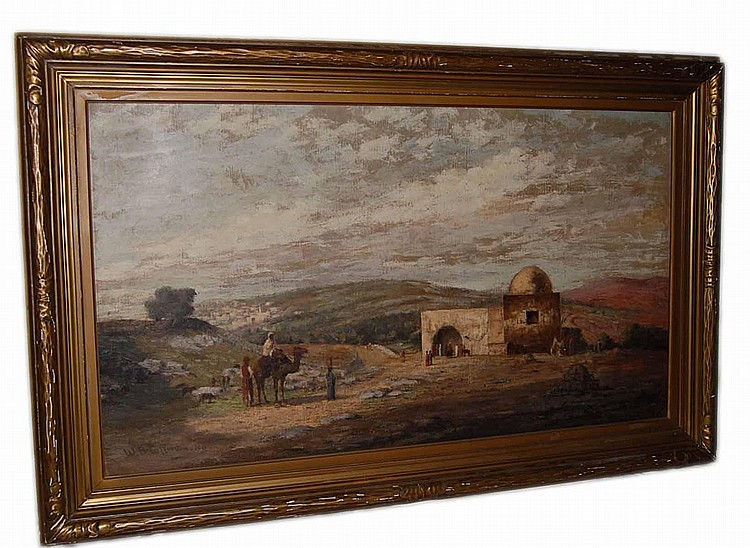William Birdsall Gifford  (1839 - 1929) Oil on Canvas