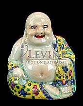 Porcelain Buddha Figure