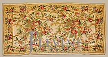 PAIR Matching Floral Kashmiri Rugs