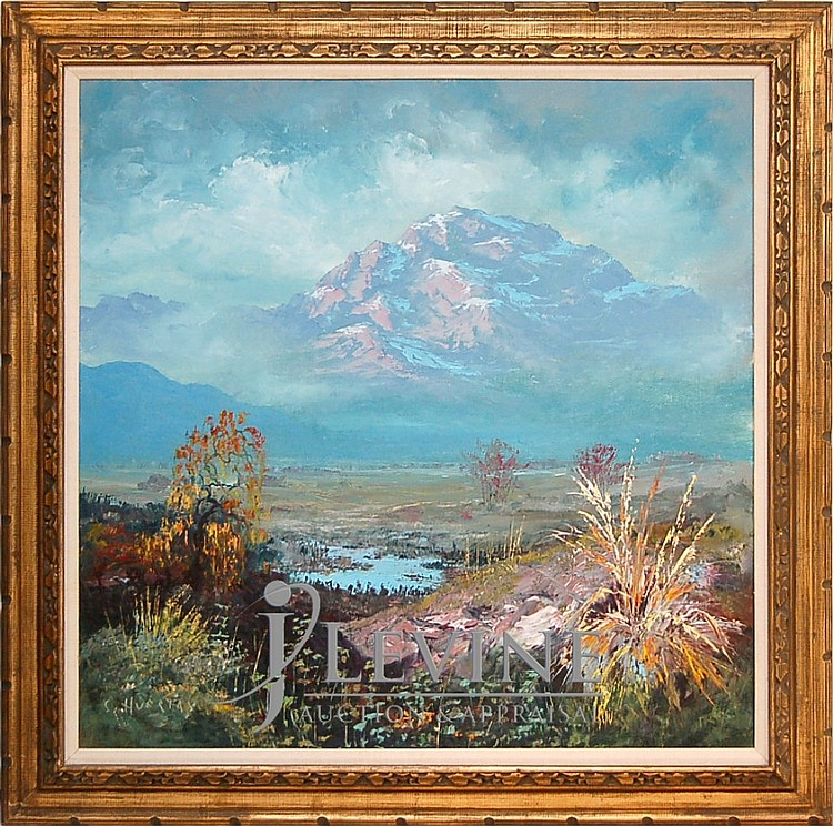Segundo Huertas (1923 - 2010) Oil on Canvas #1