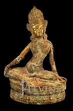 Cast Iron Deity Statue