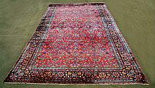 Art Deco Era Hand Woven Sarouk Persian Rug