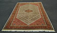 Hand Woven Indian Nizam Wool Rug