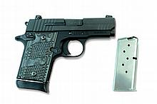 Sig Sauer Pistol, P938, 9mm Para, XTM-Black & Grey