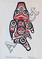 Bill Reid Haida DogFish Print