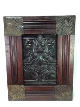 Architectural Panel Molded  Wood Metal Art