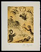 Marc Chagall Limited Ed. Signed Etching Psalms of David #1