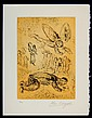Marc Chagall Limited Ed. Signed Etching Psalms of David #2
