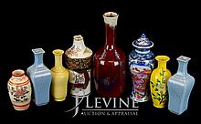 Asian Flambe Vase Lot