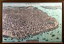 San Francisco 1912 Panama Pacific Expo. City Map