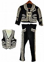 Antique Child's Mariachi Suit
