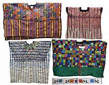 4 South American, Peruvian Style Ponchos / Shirts